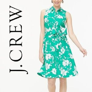 J. Crew Sleeveless Tie-waist Dress Size 4